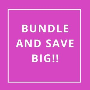 BUNDLE 3 OR MORE ITEMS TO SAVE